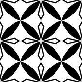 Geometric Leaf Hand Drawn Seamless Pattern