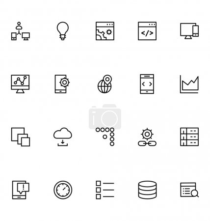 Productivity and Development Vector Icons 7