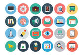 Flat SEO and Marketing Icons 1