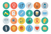 Flat Medical and Health Vector Icons 2