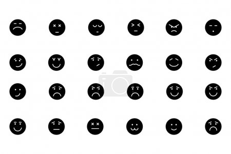 Smiley Line Vector Icons 5