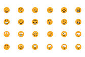 Smiley Colored Vector Icons 2
