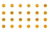 Smiley Colored Vector Icons 3