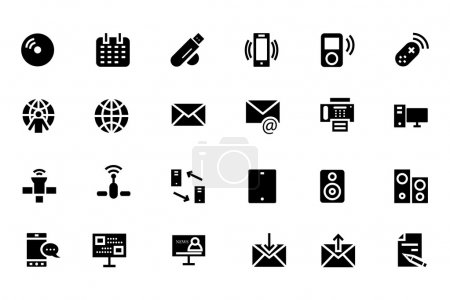 Communication Vector Icons 7