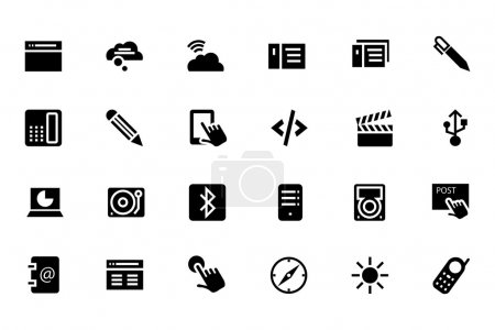 Communication Vector Icons 6