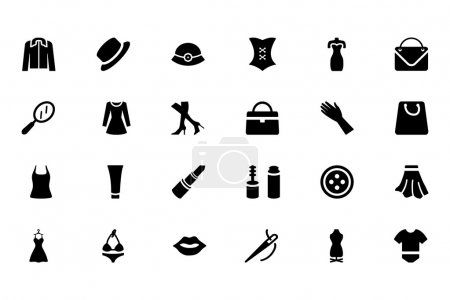 Fashion Vector Icons 1