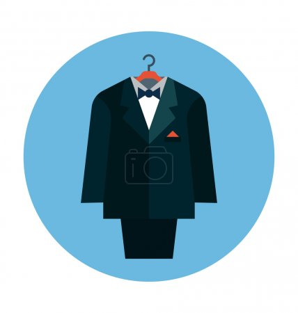 Suit Colored Vector Icon