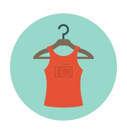 Blouse Colored Vector Icon