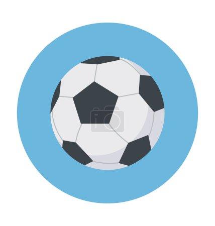 Football Colored Vector Icon