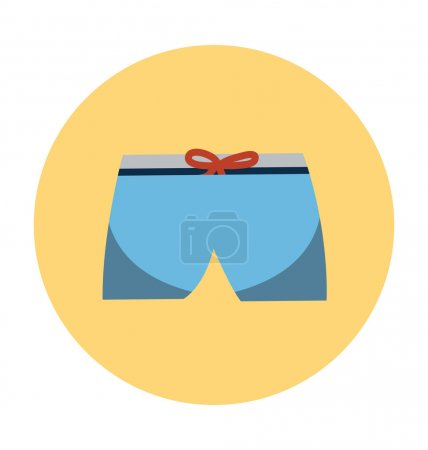 Shorts Colored Vector Icon