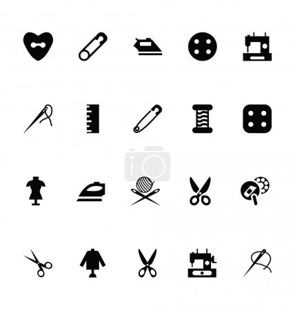 Sewing Vector Icons 4