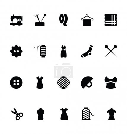 Sewing Vector Icons 1