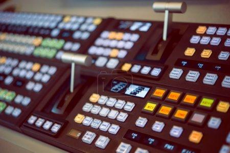 Remote control for sound recording studio