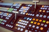 Dálkové ovládání pro zvukové nahrávací studio