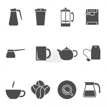 coffee tea icons
