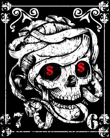 Skull Mummy Poster...