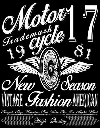 t-shirt graphics,motorcycle company