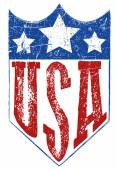USA logo and arm for t shirt graphic design