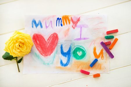 Drawing from Child for Mummy