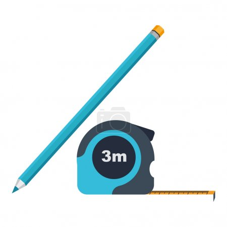 Icon roulette and pencil
