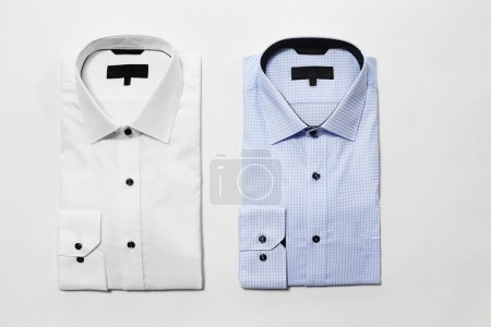 fashion shirts in studio