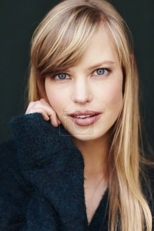 Stunning blue eyed blond
