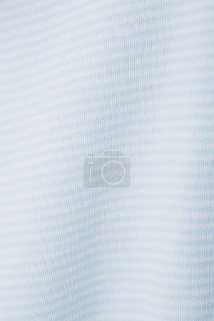Blue striped babygro