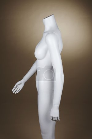 Incomplete female mannequin