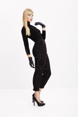 Glamorous model posing