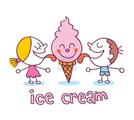 Ice cream kids