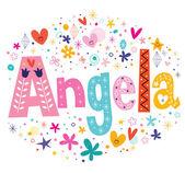 Angela female given name