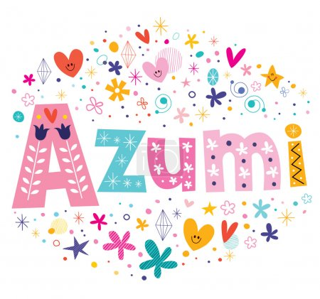 Azumi - a feminine Japanese given name