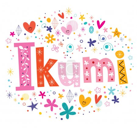 Ikumi - Japanese female given name