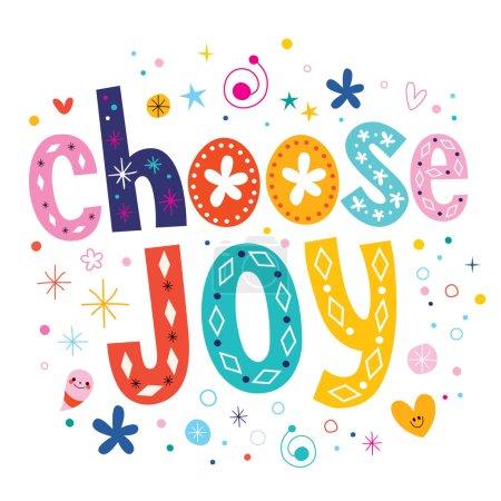 Choose joy text