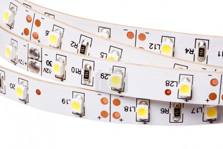 SMD LEDs on White PCB, LED Stripes, Commercial and Industrial LE
