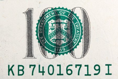 Number of one hundred dollar bill in macro