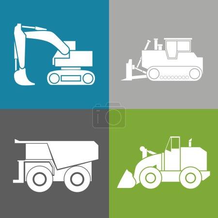 Tractor, excavator, bulldozer, crawler, Wheeled an...