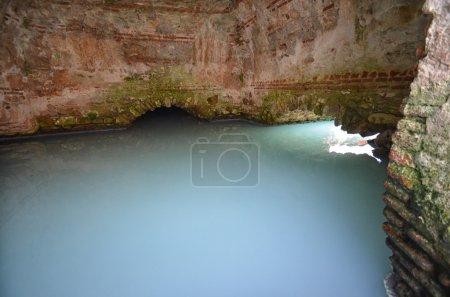 Old Roman baths in Spain