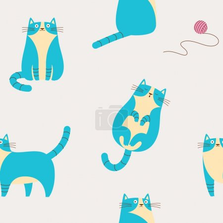 Photo for Vector illustration.  For children's textiles, cards, decorations, wallpaper - Royalty Free Image