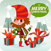 Merry Christmas character