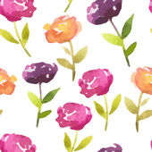 Vector Illustration Hand-painted Watercolor Design Elements