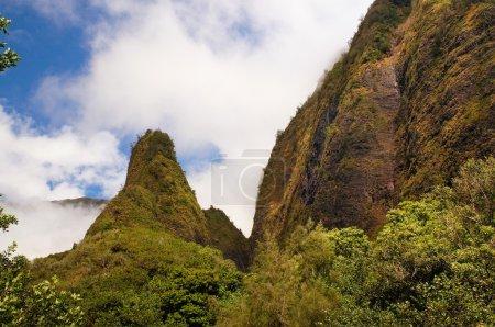 Iao Needle, at Iao Valley, Maui, Hawaii, USA