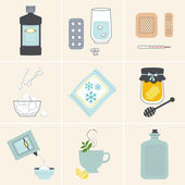 Set of Home Medical Remedies