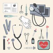 Et of Medical Instruments