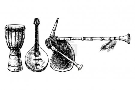Ethnic Musical Instruments