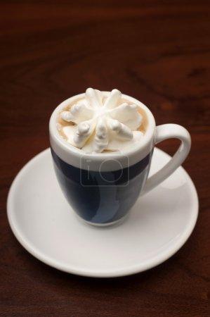 Espresso with ice-cream