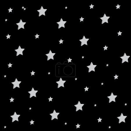 Vector Background Stars