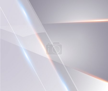 Illustration for Abstract silver with line light background design - Royalty Free Image