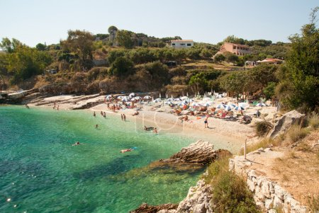 Kassiopi Beach, Corfu Island, Greece.