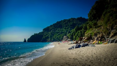 Hagia Saranta Beach, Pelion, Greece